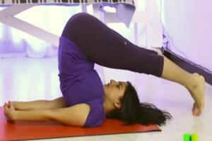 Yoga for thyroid halasana