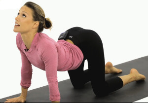 Yoga for thyroid marjariasana