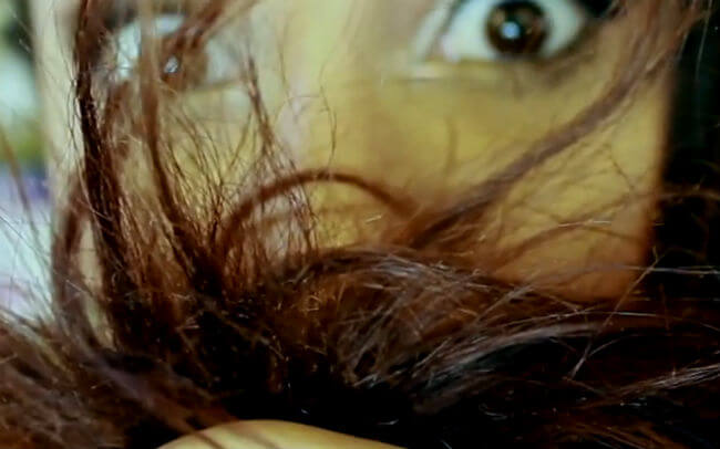 दो मुंहे बालों
