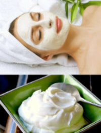 how to use curd on face for improvement