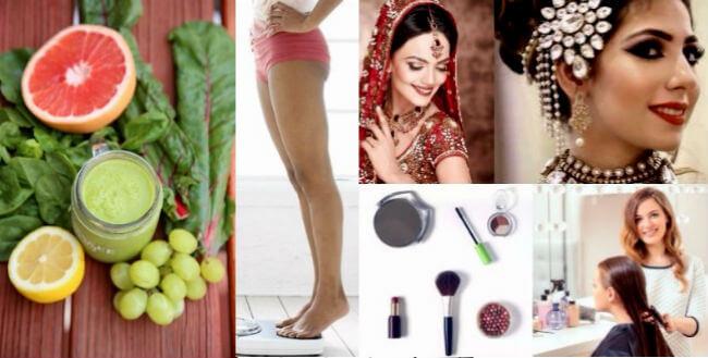 Bridal Makeup & Beauty Tips , dulhan makeup health beauty tips in hindi