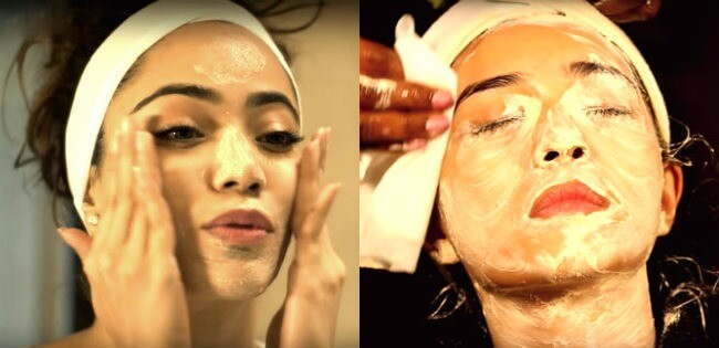 facial at home in hindi , ghar par facial kaise kare vidhi फेशियल करने का तरीका