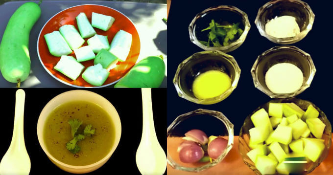 bottle gourd lauki soup recipe in hindi