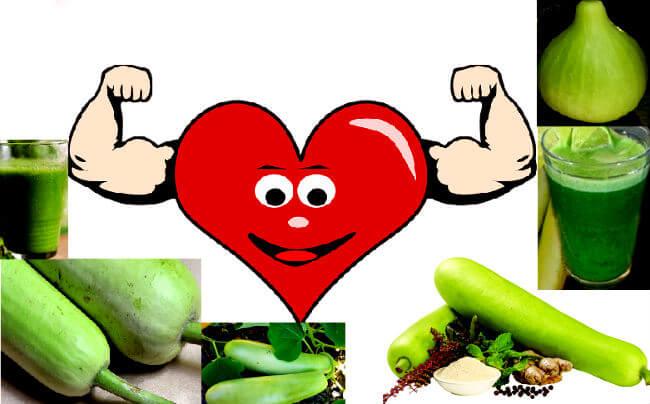 ह्रदय रोग में लौकी के फायदे /lauki juice benefits for heart diseases