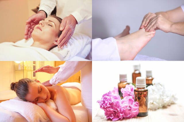 मसाज Body Massage malish ke fayde vidhi
