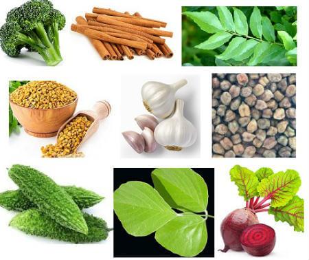 Diabetes Control Food Items डायबिटीज कंट्रोल करने के लिए