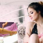 वैक्सिंग cold wax underarm waxing at home in hindi