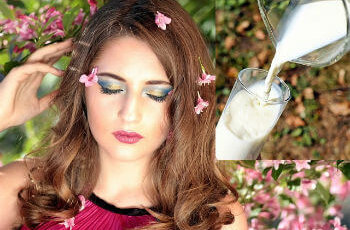 दूध use of milk kacha dudh for face skin benefits