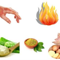 त्वचा जलने पर घरेलू उपाय तथा फ़ौरन राहत के लिए प्राथमिक उपचार jalne par kya kare gharelu upchar