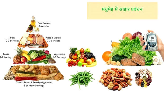 मधुमेह में आहार प्रबंधन की विधि : Dietary Guidelines for Diabetes मधुमेह में आहार Dietary Guidelines diabetics